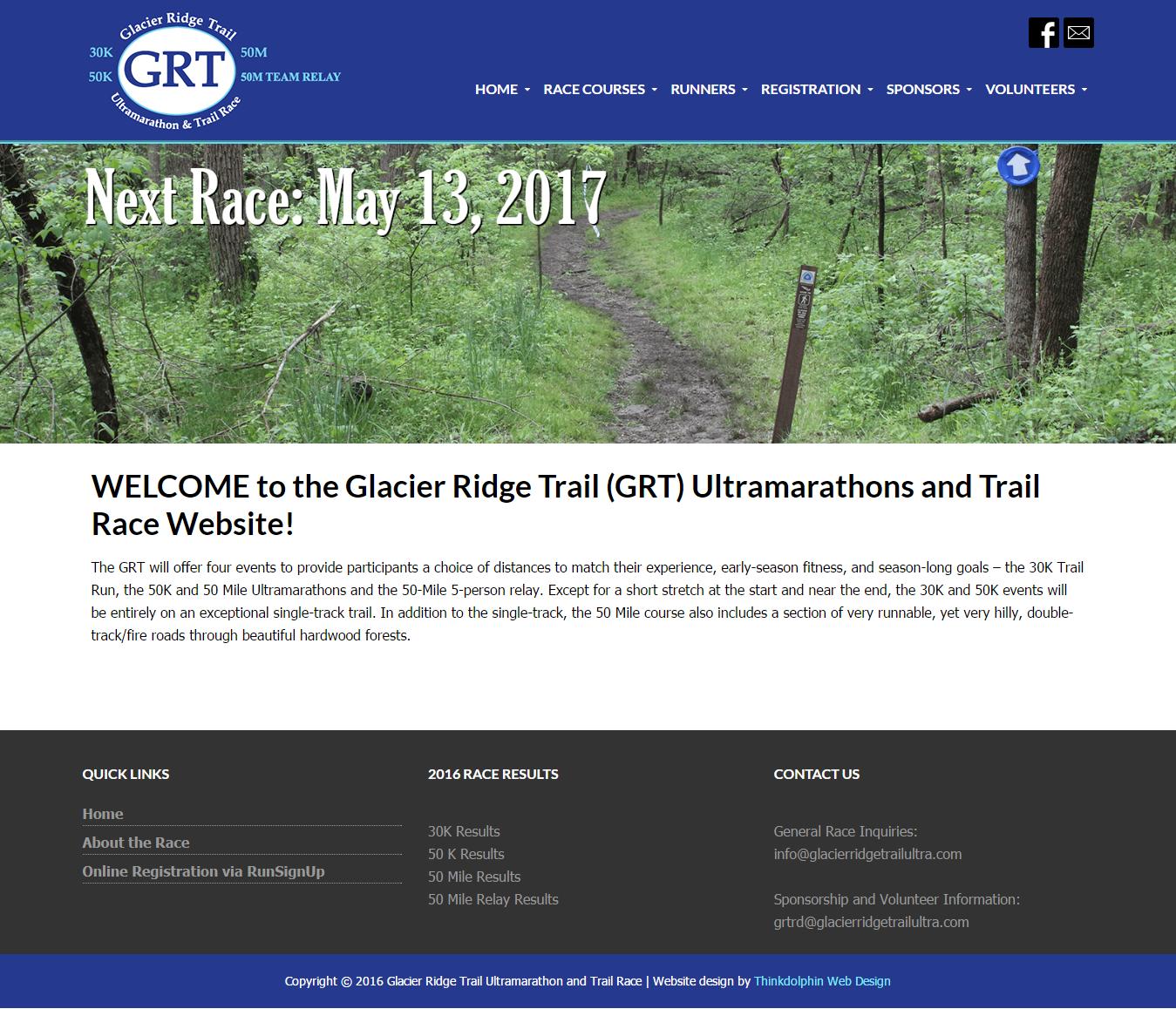 Glacier Ridge Trail Ultramarathon